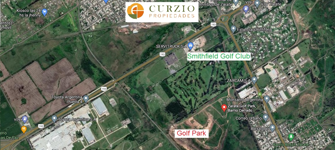 Vendo Lotes en Golf Park Zárate
