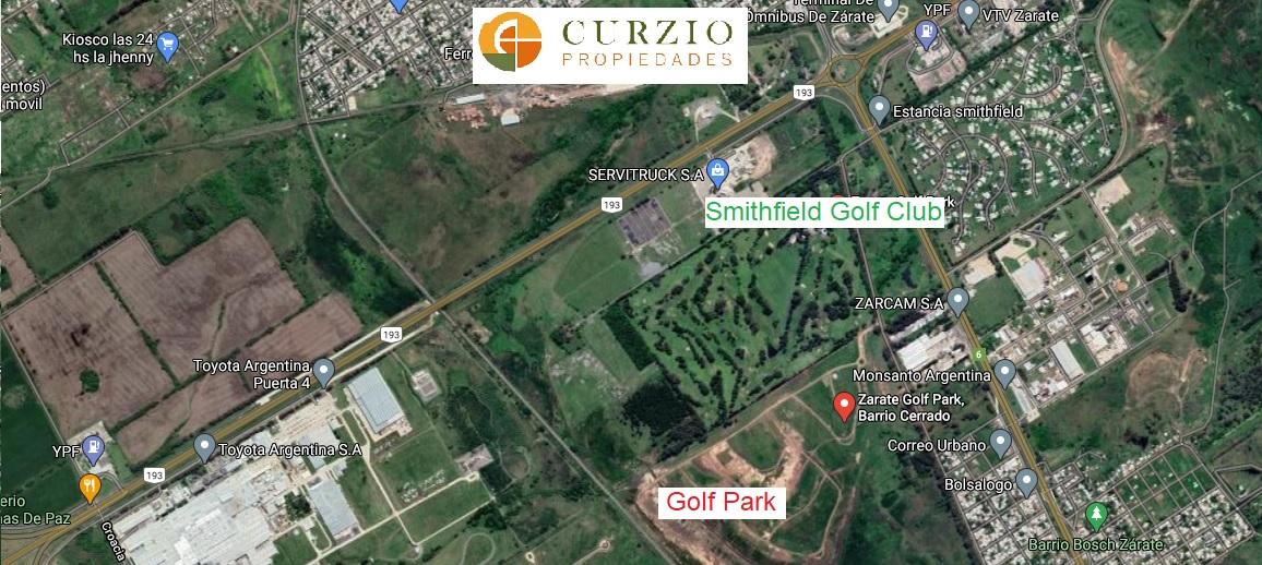 Vendo Lotes en Golf Park Zárate