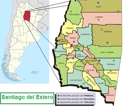 Santiago del Estero - algunos datos