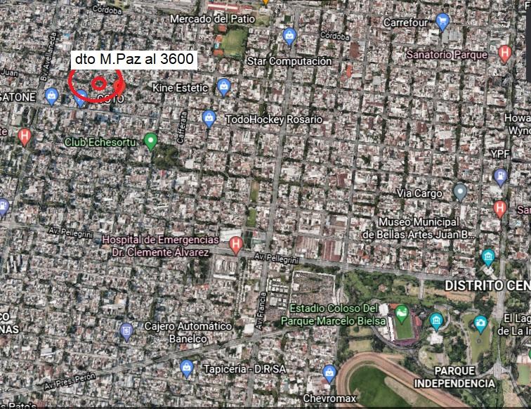 Vendo depto de 2 dormitorios en Rosario, Santa Fe