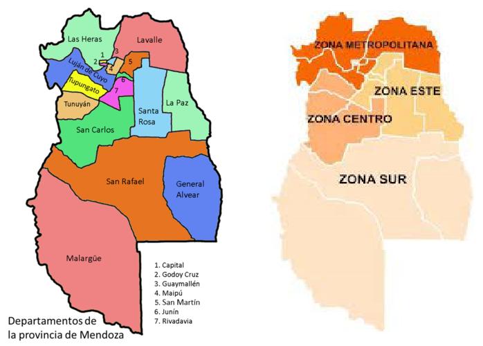 Pcia Mendoza - algunos datos