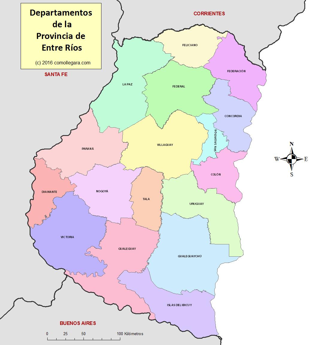 Pcia Entre Rios - algunos datos